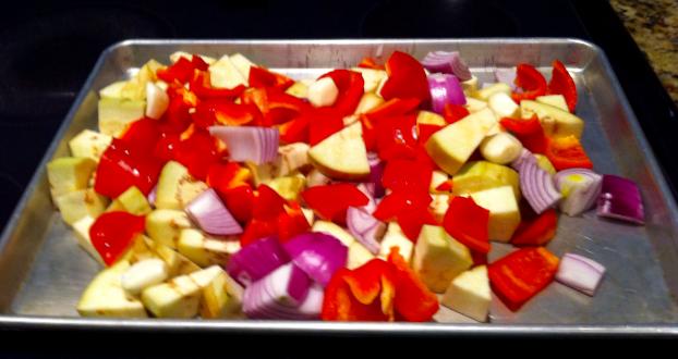 Dawn prepares Roasted Eggplant Dip